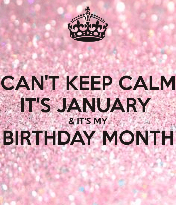 Not that anyone care but its almost my birthday (8 jan