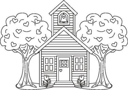 coloring pages coloring and schools on pinterest
