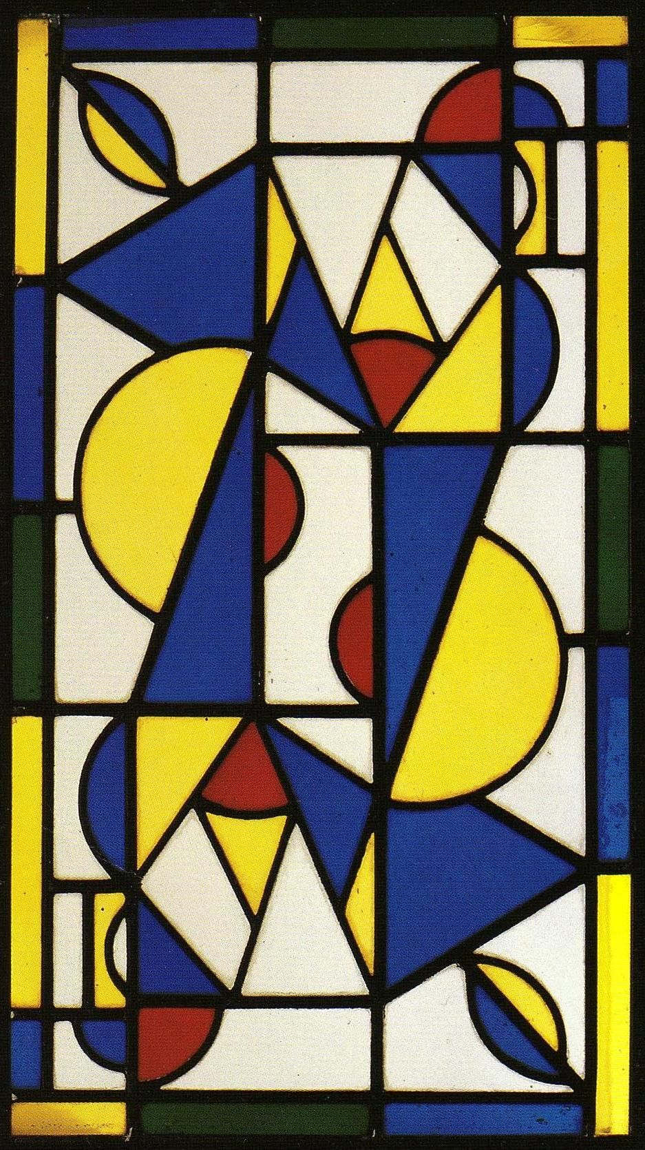 Theo Van Doesburg along with Piet Mondrian founded the