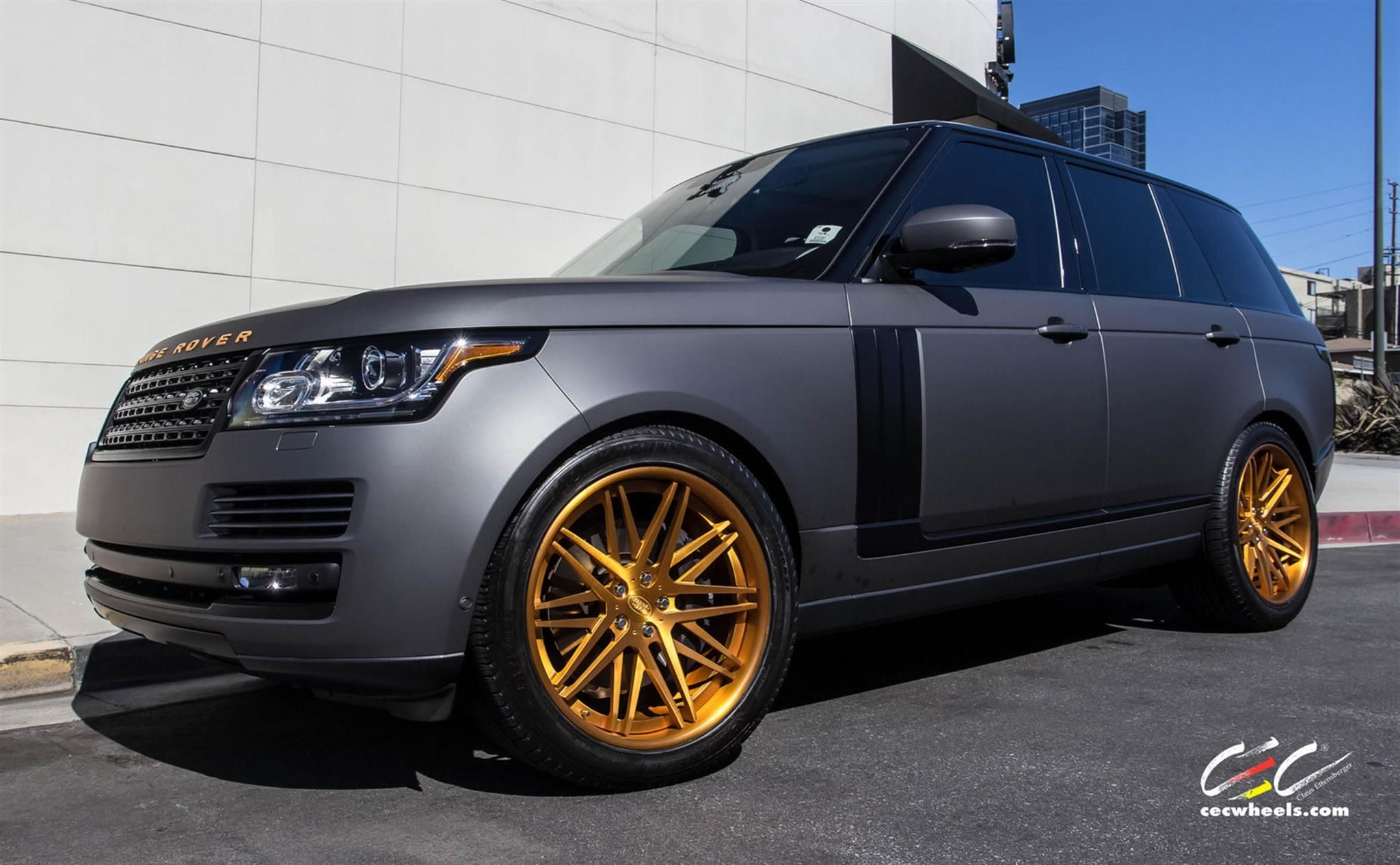 Range Rover Supercharged by CEC in Los Angeles CA to view