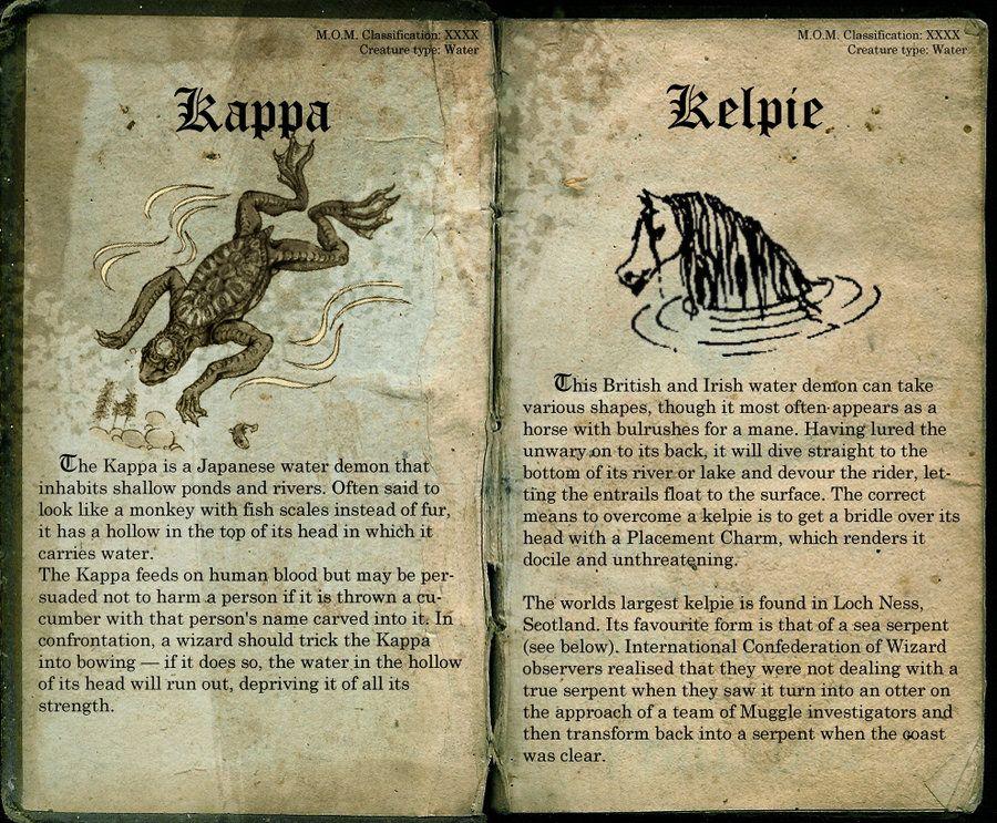 Kappa and Kelpie page 39 by LostinHogwarts on DeviantArt