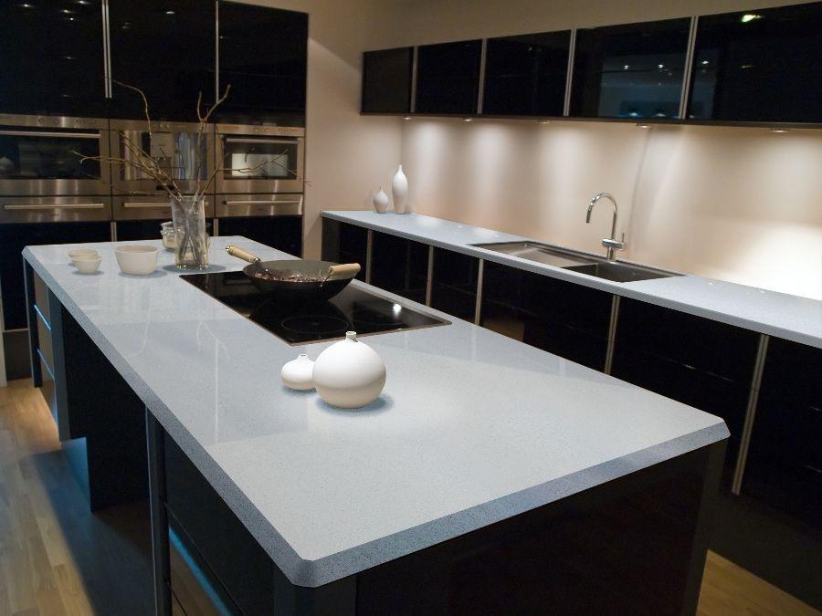 Sparkling White Q Premium Natural Quartz Countertop