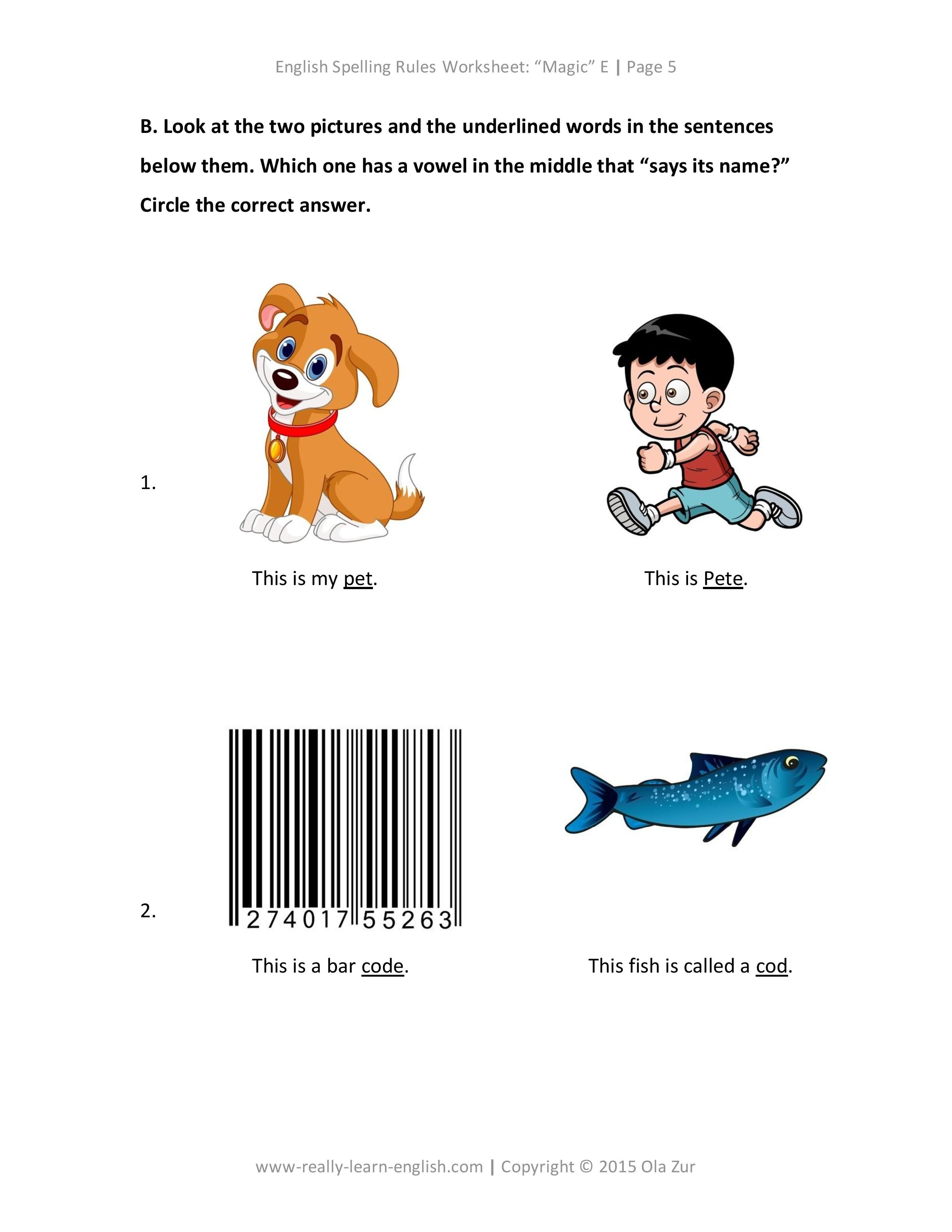 English Spelling Rules And Free Worksheets For The Silent