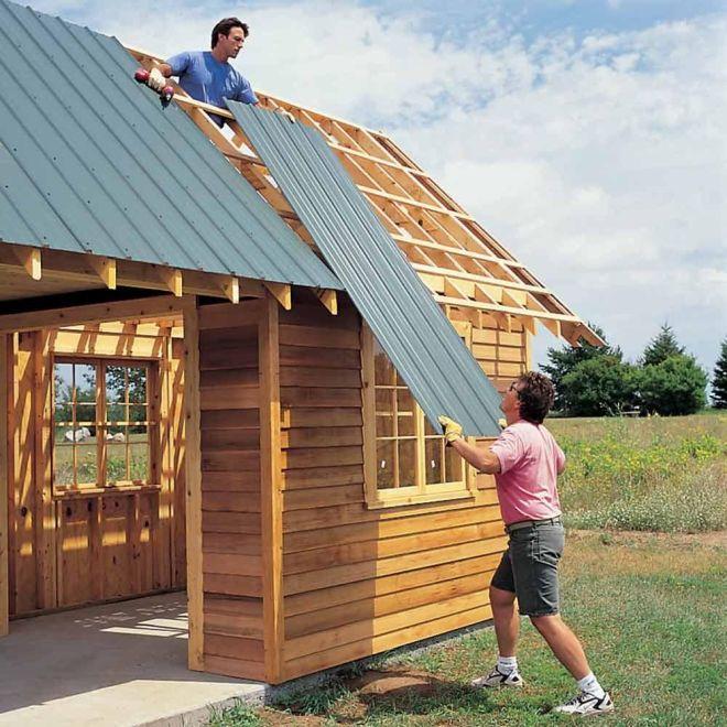 Diy storage shed building tips