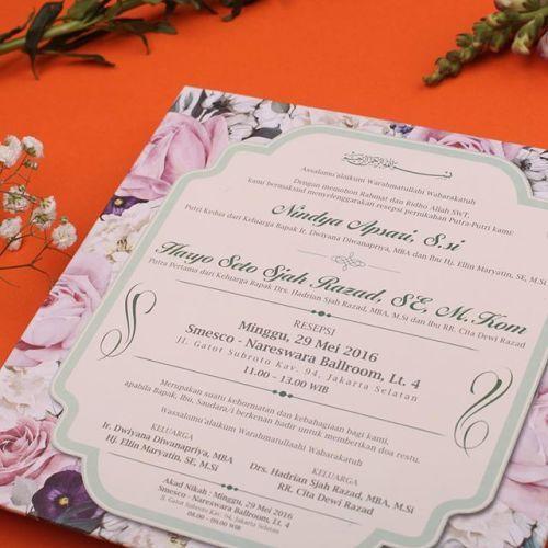 Download Gratis Desain Undangan Pernikahan Pink Soupservers