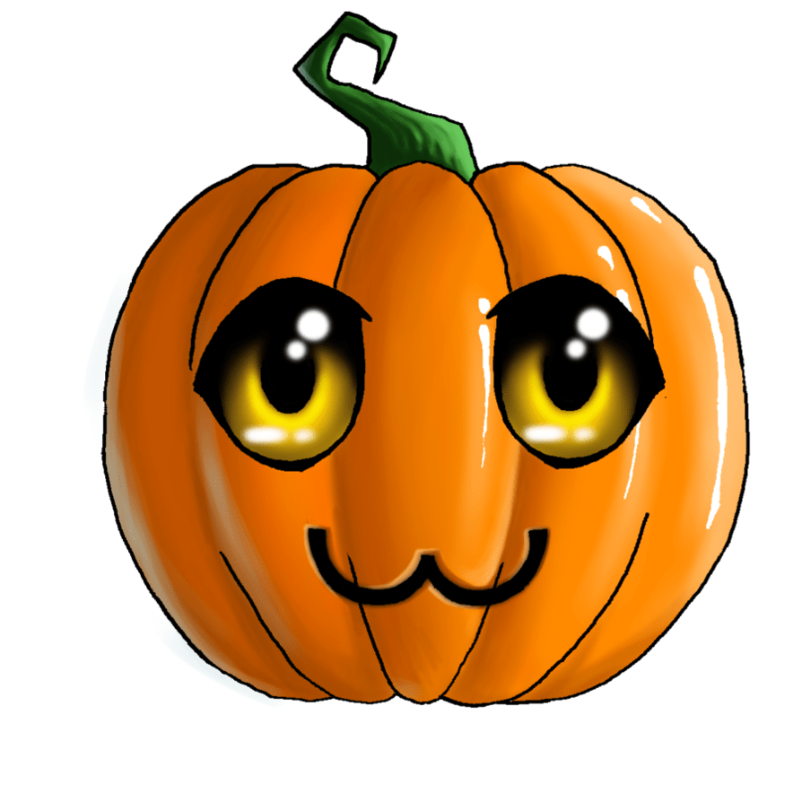 CUTE HALLOWEEN PUMPKIN, CLIP ART Images Halloween