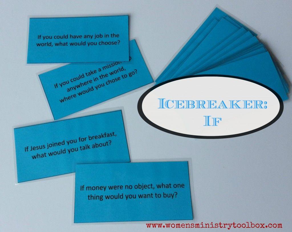 Christian Icebreaker If Questions