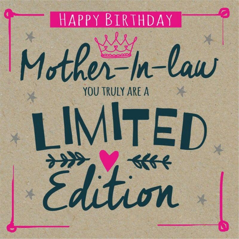 Motherinlaw Birthday Happy Birthday Pinterest