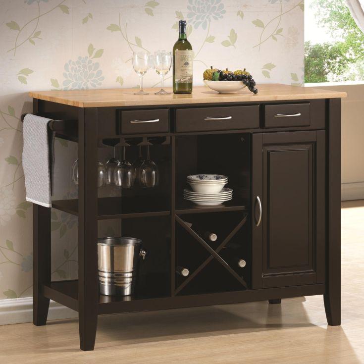 kitchen island with storage and wine rack   http://navigator-spb