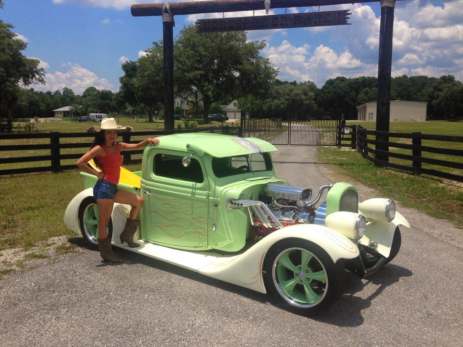 Street Rods For Sale 1937 Ford Custom Chopped and Lowered