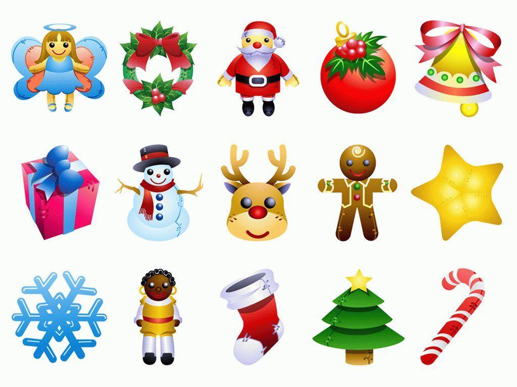 15 Christmas cartoon icon png Xmas ideas Pinterest