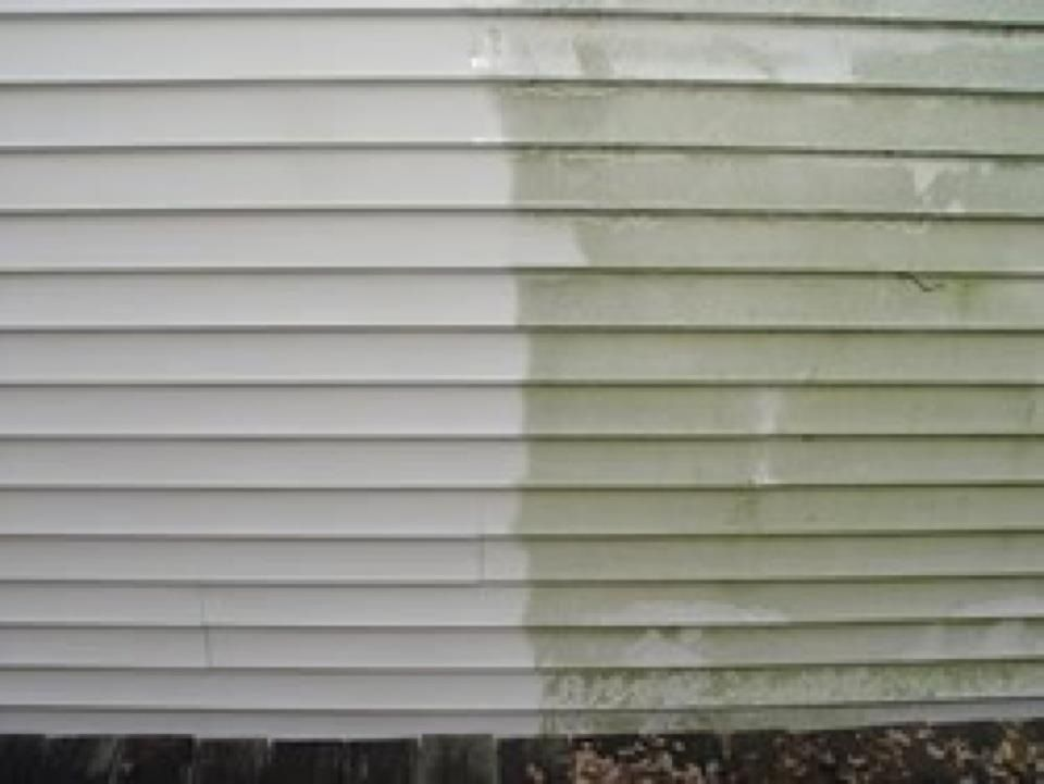 Mold Amp Mildew Removal Off Vinyl Siding Ck Out More Pics At Wwwwnc Roofcleaningcom House