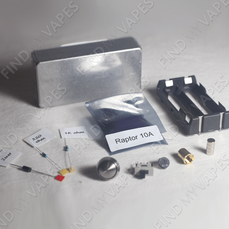 DIY Raptor 10A Box Mod Kit Box, Vaping mods and Vape