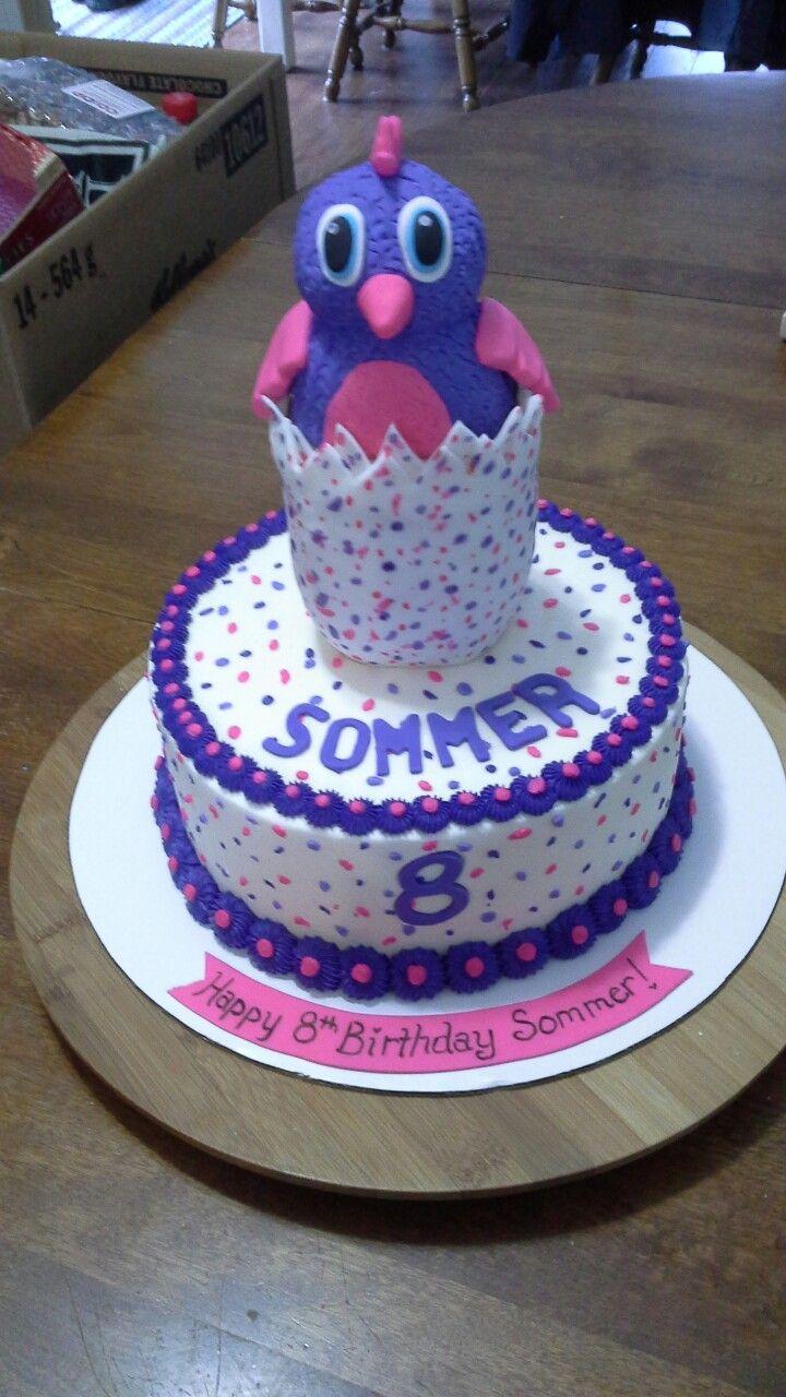 Hatchimal cake Mandy's Cake Creations Pinterest Cake