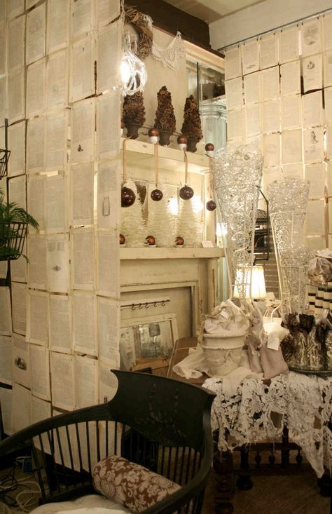 Use Old Sheet Music I Love This Idea For Sectioning A Room And Adding A Cool