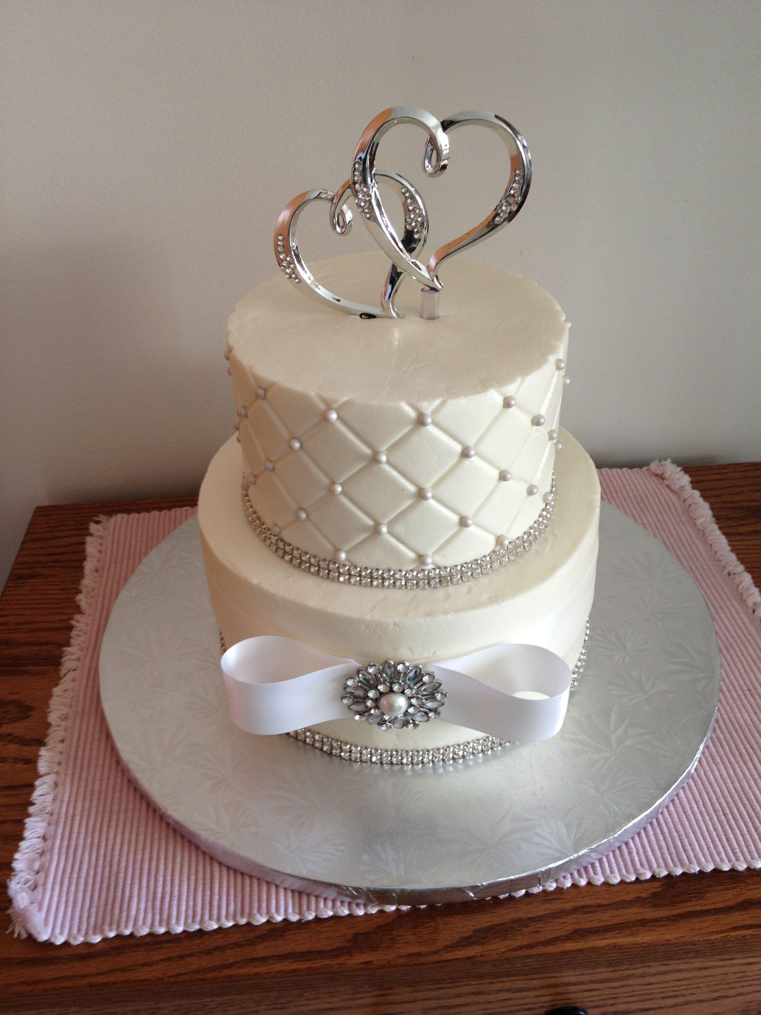Homemade Anniversary Cakes Small Wedding Cake
