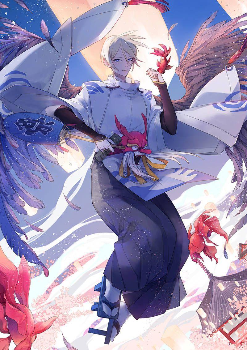 阴阳师—大天狗 阴阳师 Pinterest Anime and Manga
