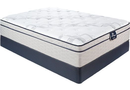Picture Of Serta Perfect Sleeper Echo Springs Queen Mattress Set From Furniture