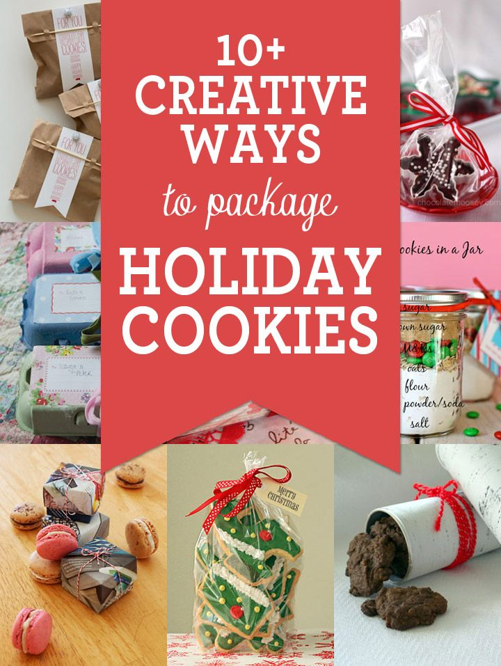 11 Creative Ways to Package Cookies Creative, Holidays