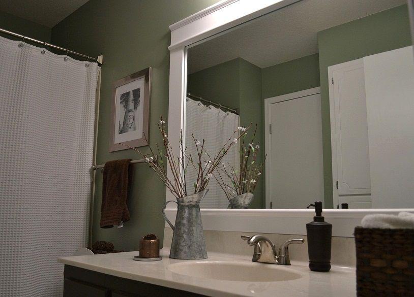 framed 36x68 bathroom mirror | bathroom mirror frame | kitchen