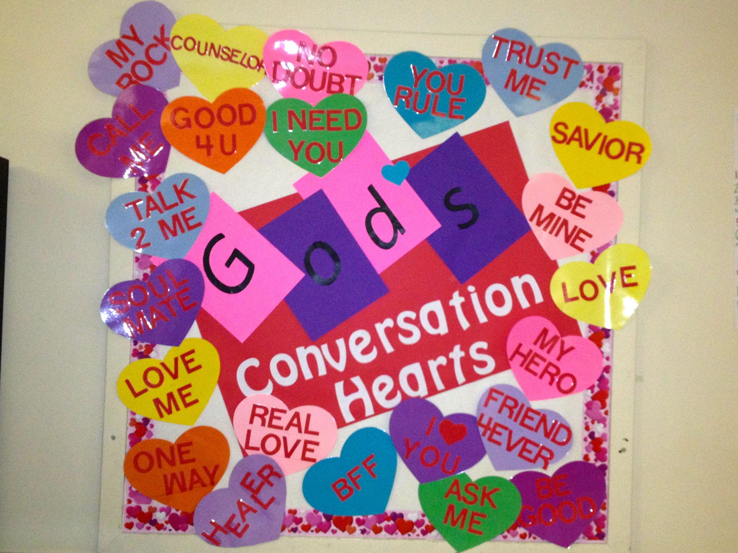 Valentines Day Bulletin Board February God S