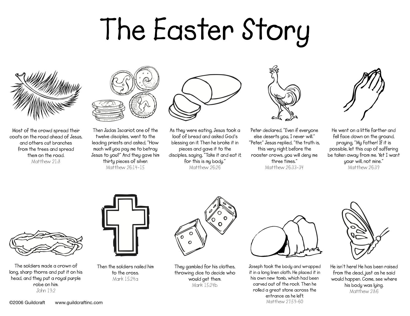 Sunday School Valentines Day Coloring Pages Easter Story Coloring Page Guildcraft Arts Amp