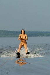 Image result for waterski naked