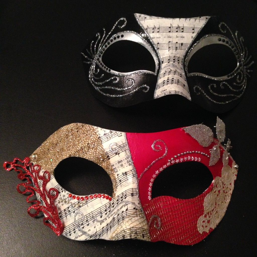 DIY Masquerade Masks by Circle City Creations! Getting