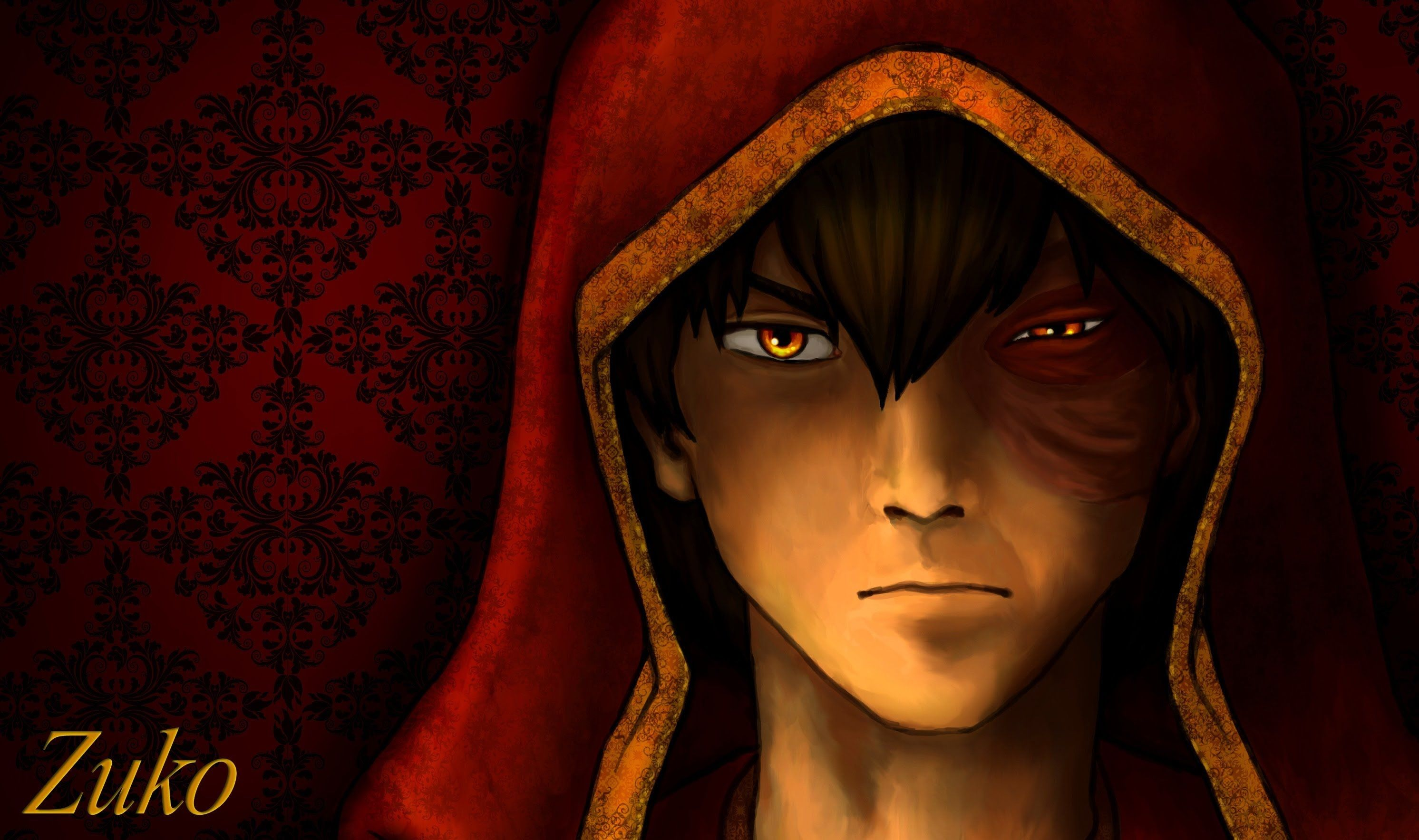 Zuko is the name of animaginary character from the