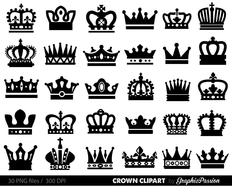 Crown Clipart King Queen Crown Clip Art Royal Crown