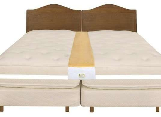 You Can Make Two Twin Beds Into A King Size Bed By Using Strap To