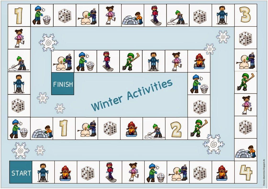Ideenreise Spielfeld Winter Activities