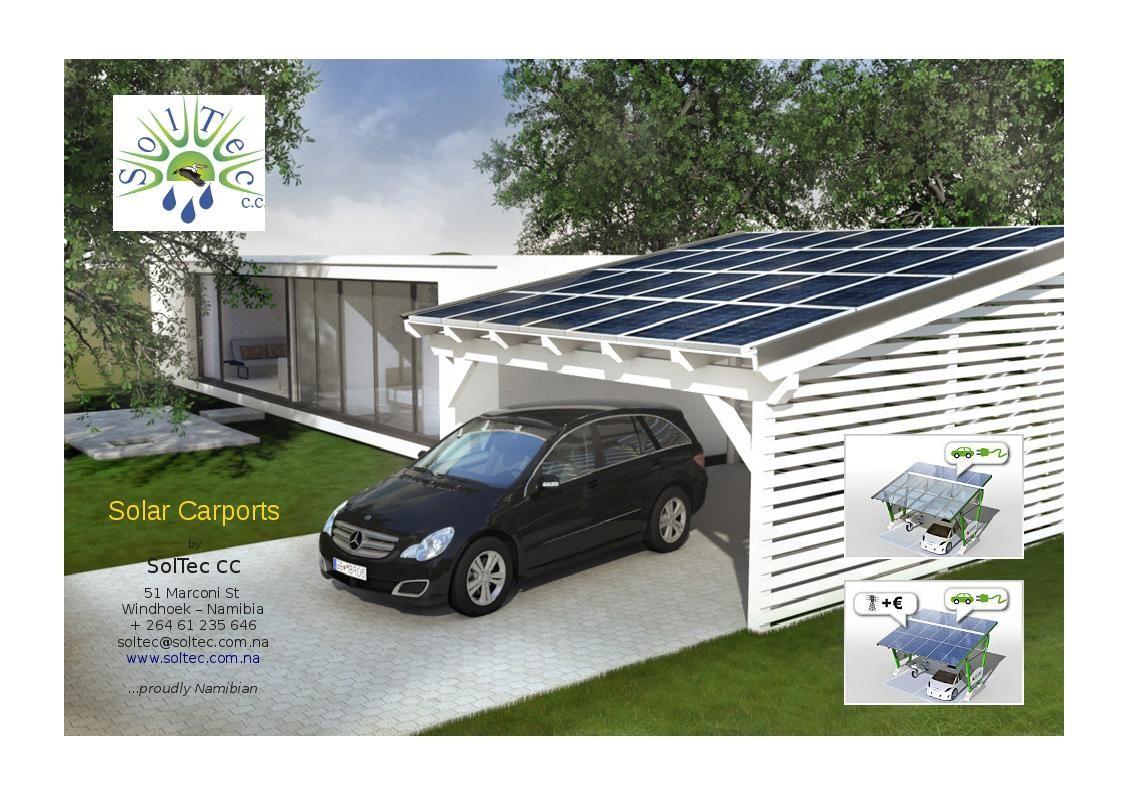 carport solar structures Solar Carports SolTec cc