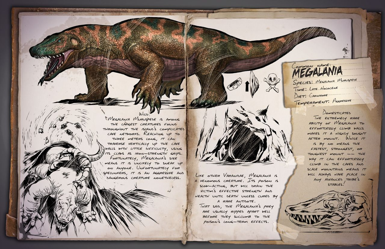 ARK Survival Evolved — New dossier release, this time for