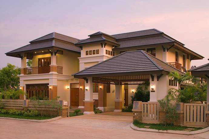 Image result for oriental style house