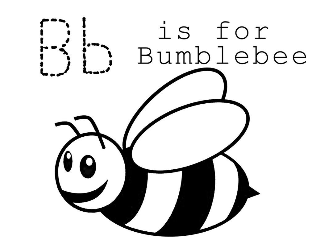 Coloring Pages Of Bumble Bee