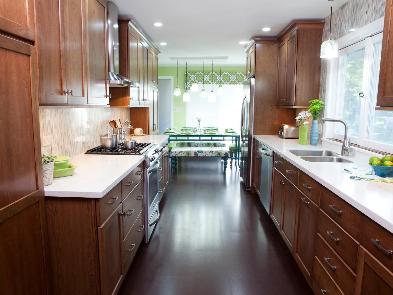 Galley Kitchen Designs Galley kitchens, Galley style