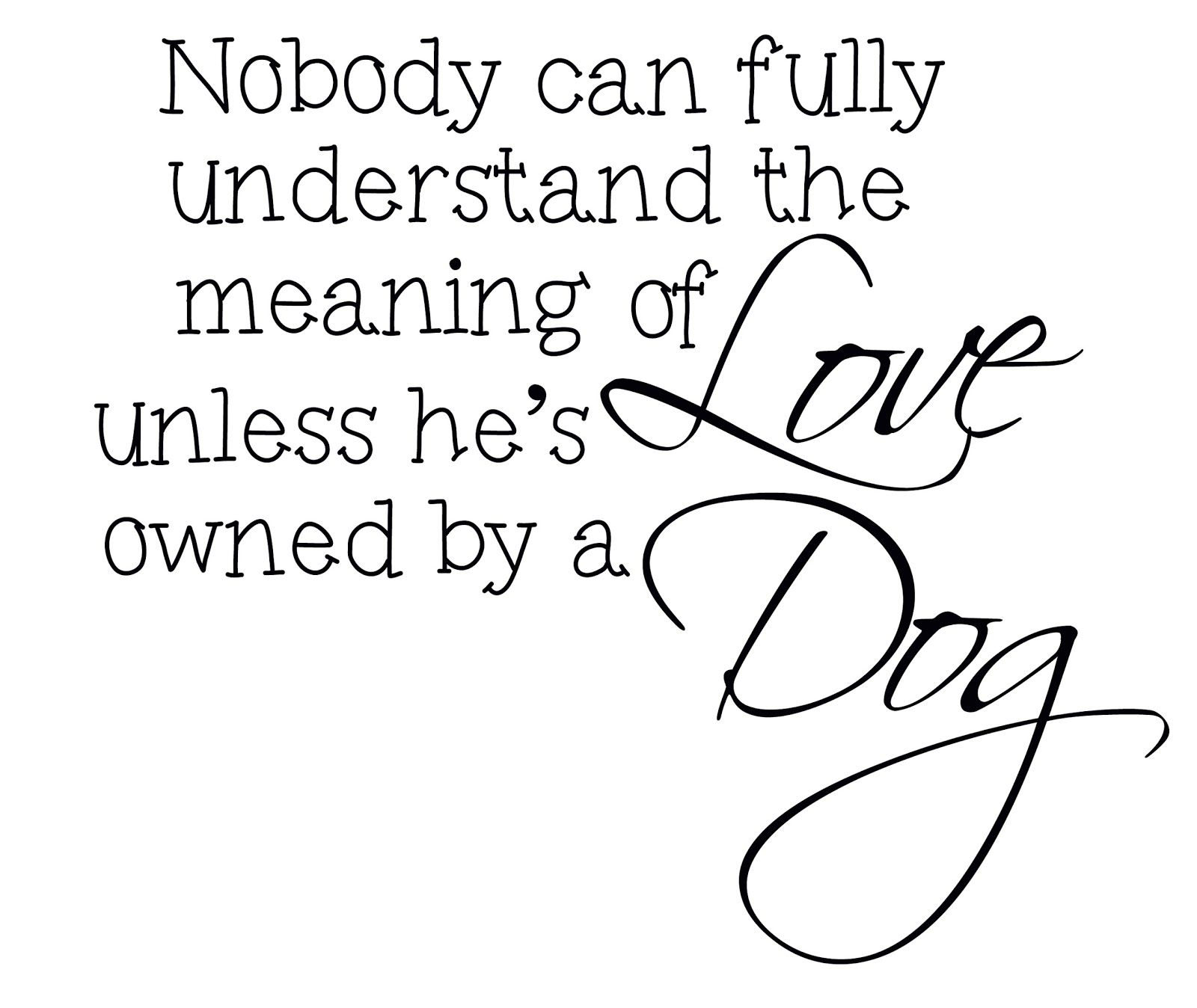 Yes Dogs Doglove