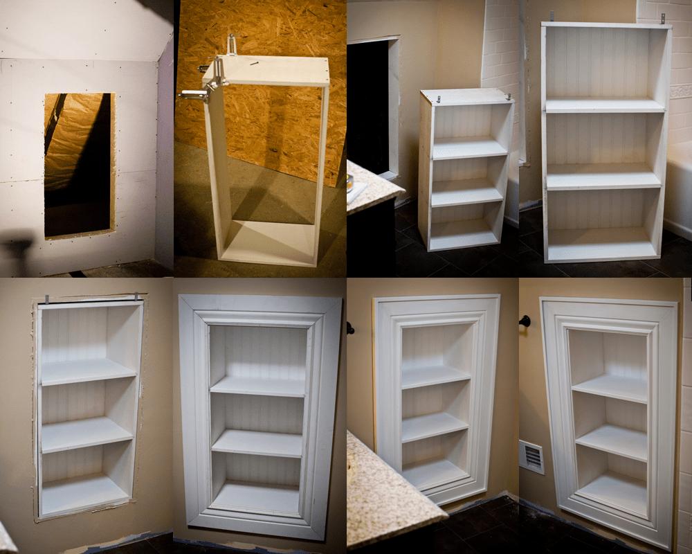 Access Panel Shelves.