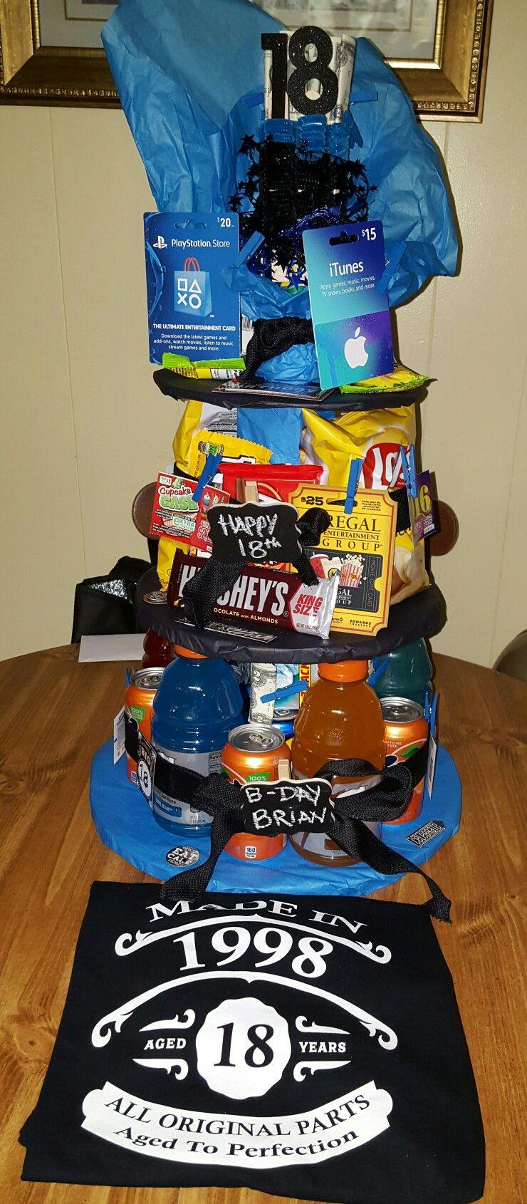 My Son S 18th Birthday Gift Pinteres