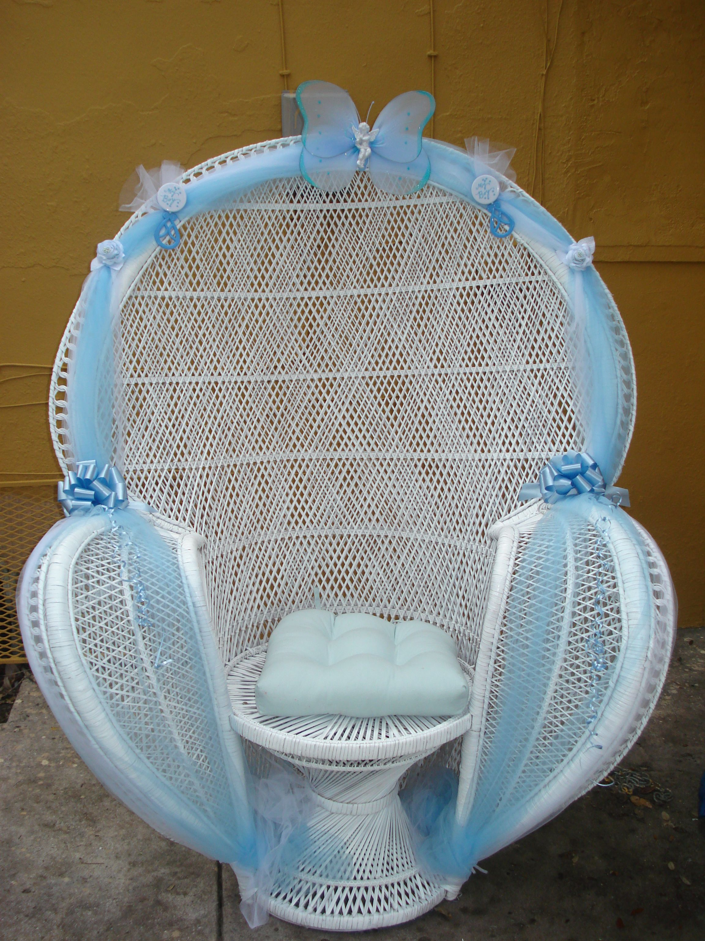 Baby Shower Chairs On Pinterest Balloon Arch Rocking