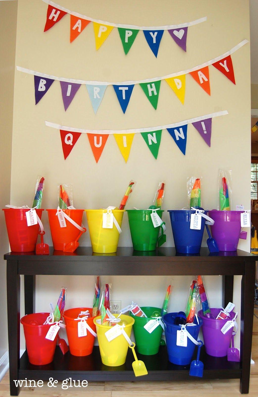 Rainbow Bunting On Pinterest
