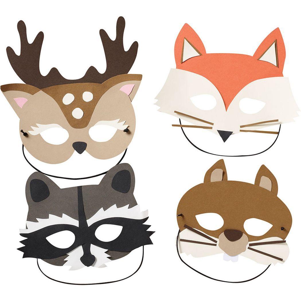 Paper Woodland Masks Kit At Paper Source