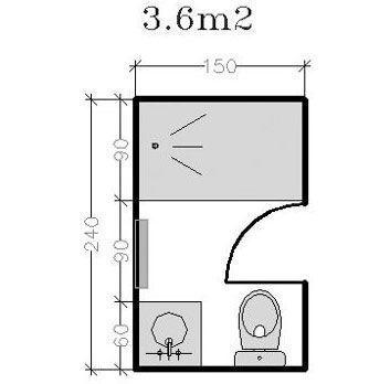 Plan Pour Salle Deau Et Petite Salle De Bains De 2 5m