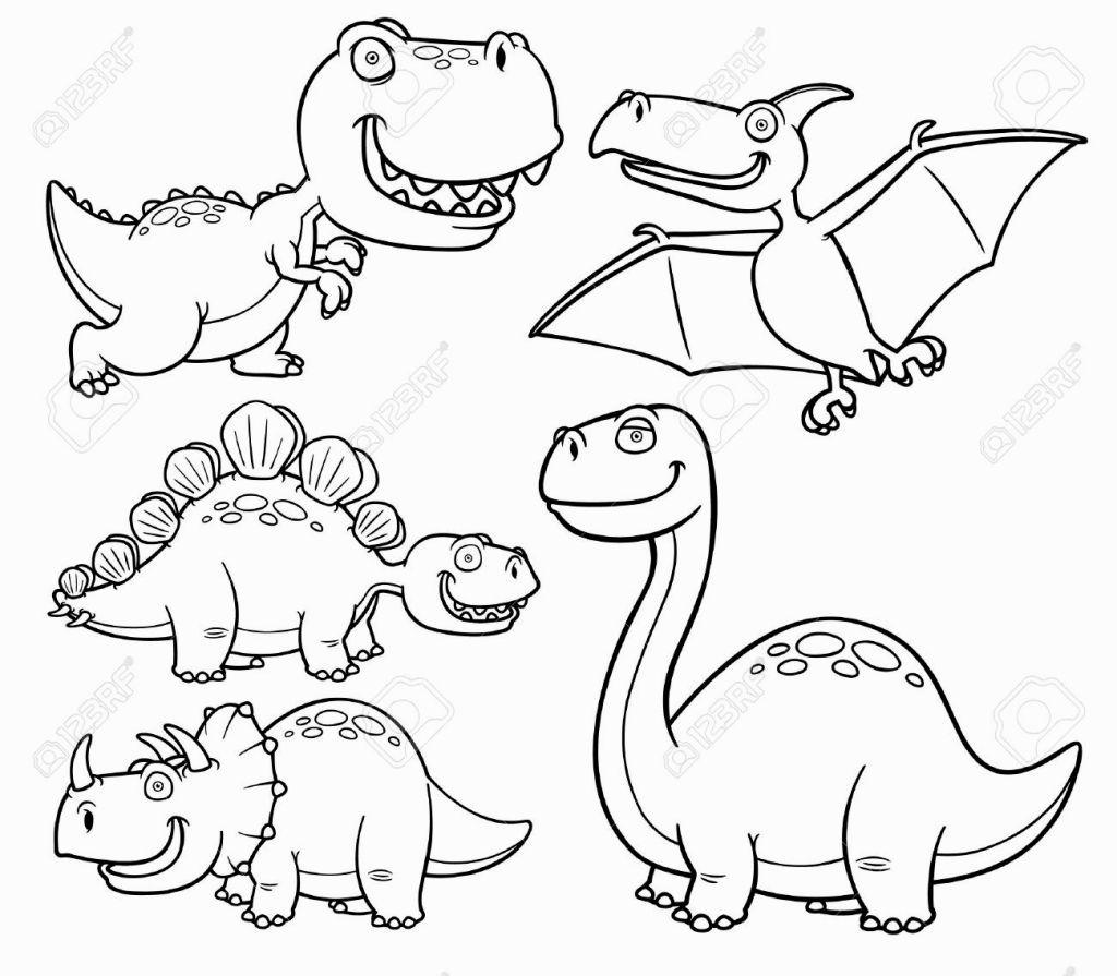 Coloring Book Dinosaurs Coloring Pages Pinterest
