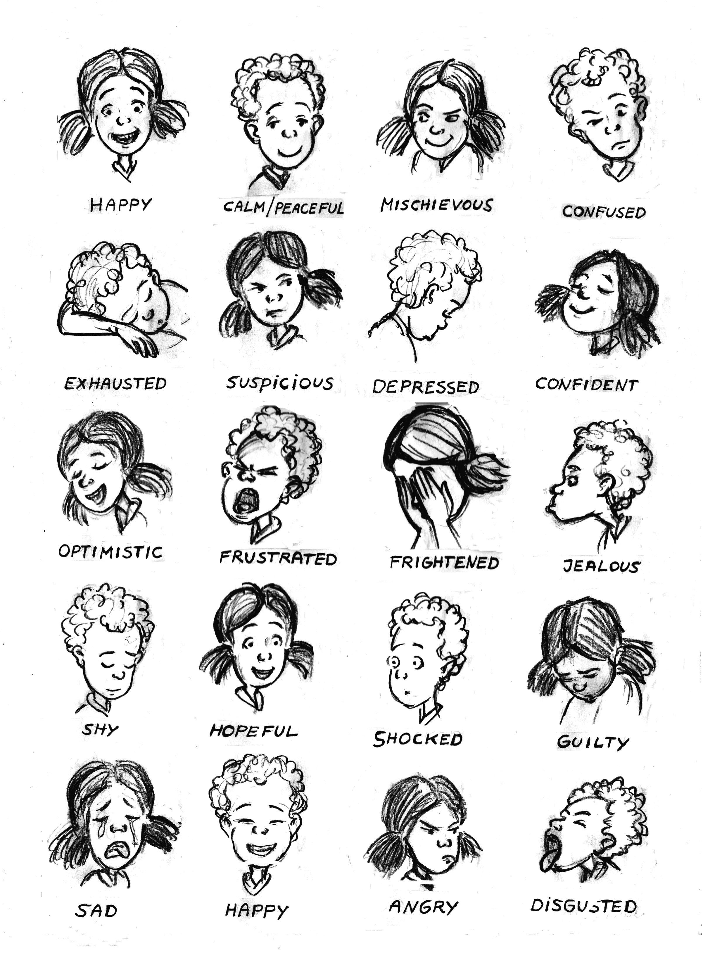 Emotions Printable Kleuters