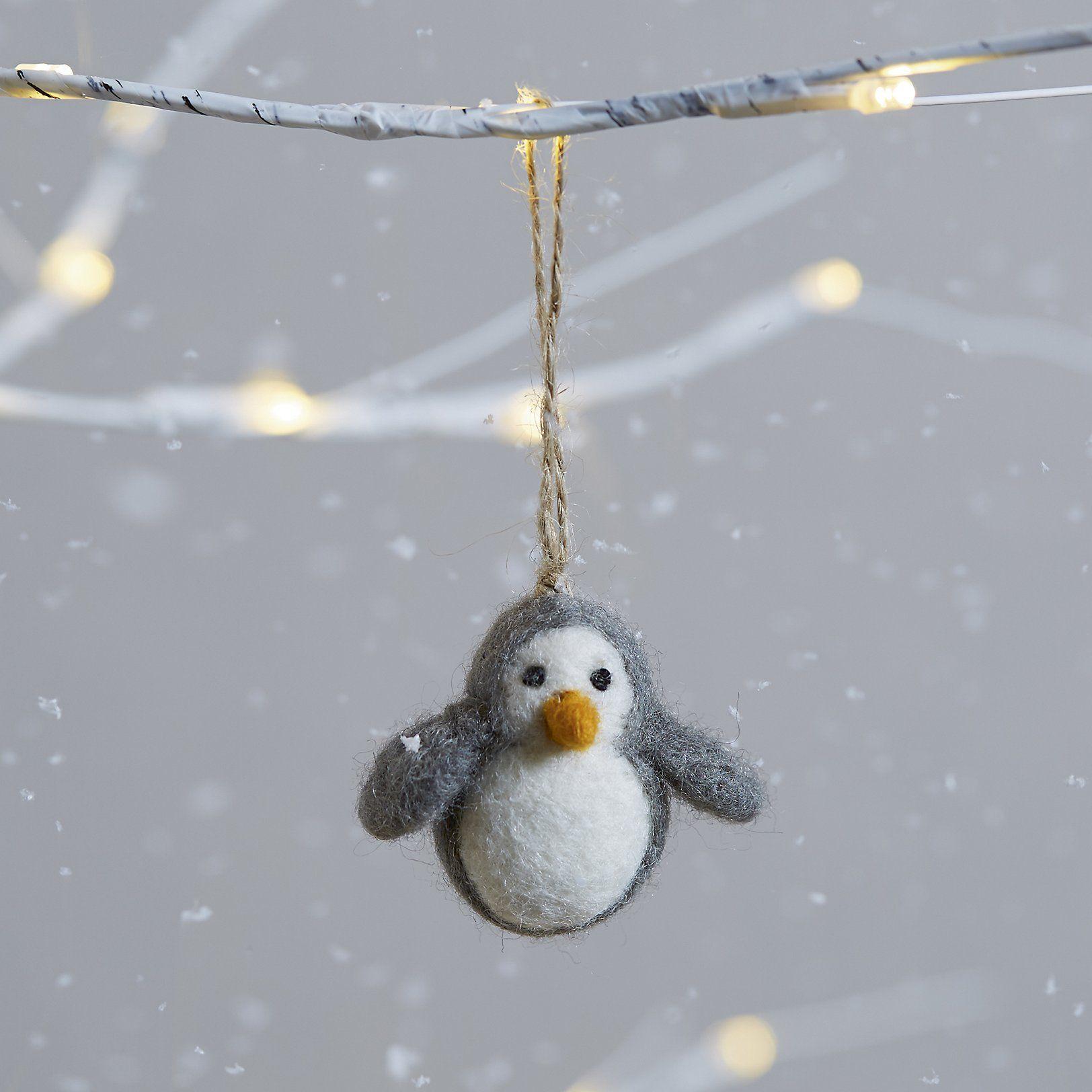 Mini Felt Penguin Decoration Christmas Tree Decorations