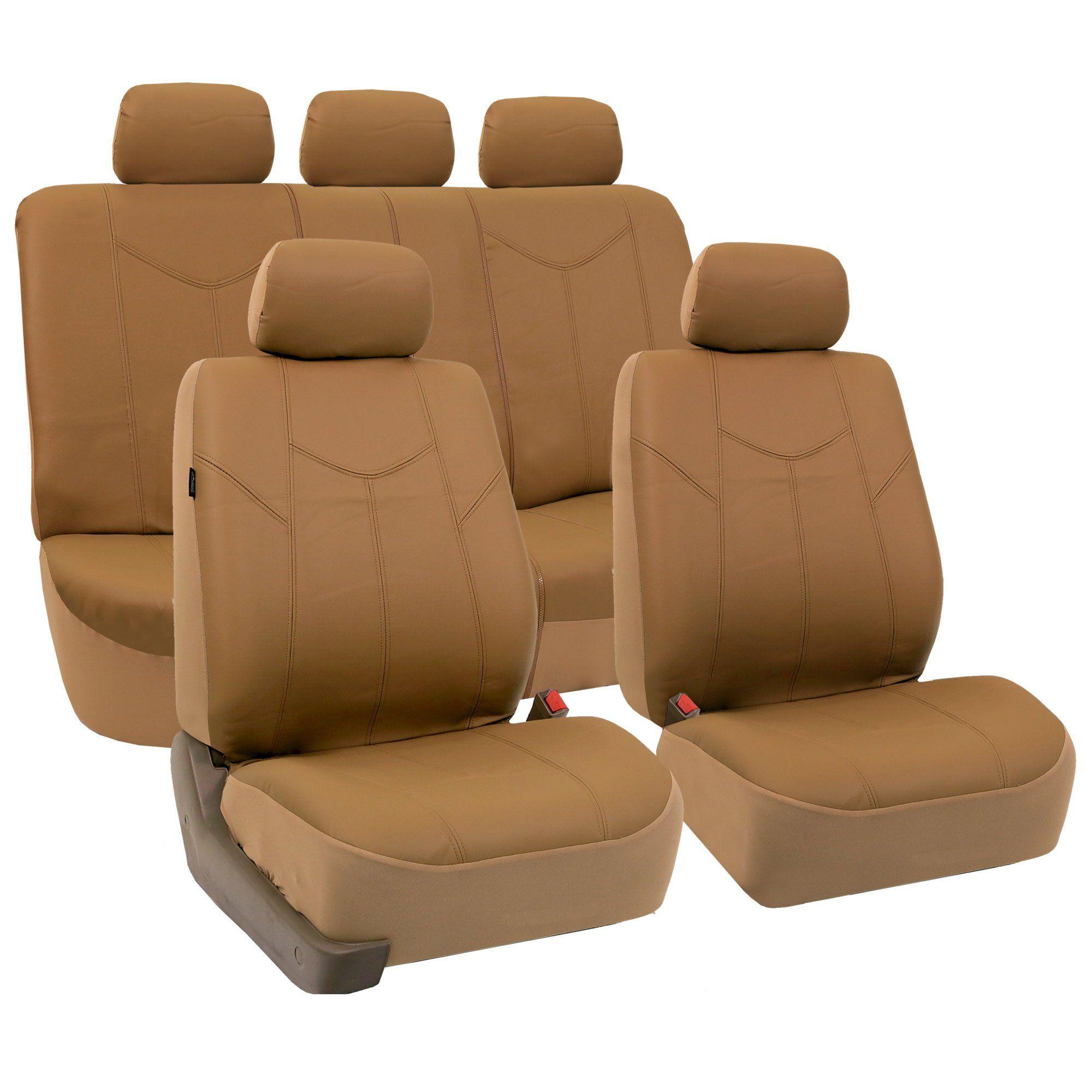 FHPU009115 Rome PU Leather Seat Covers Airbag Ready