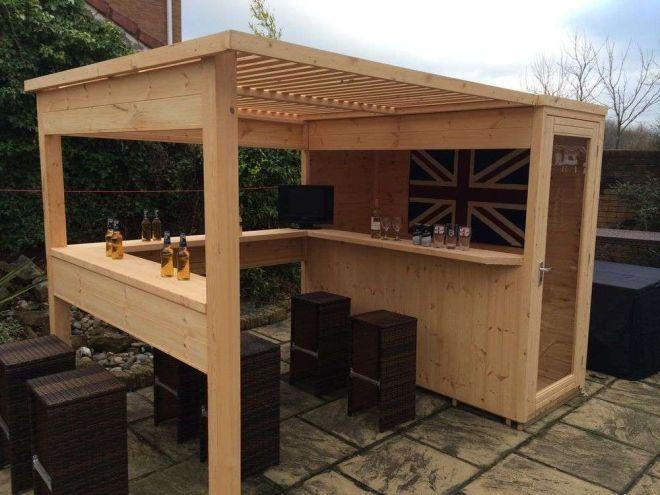 80 incredible diy outdoor bar ideas diy outdoor bar