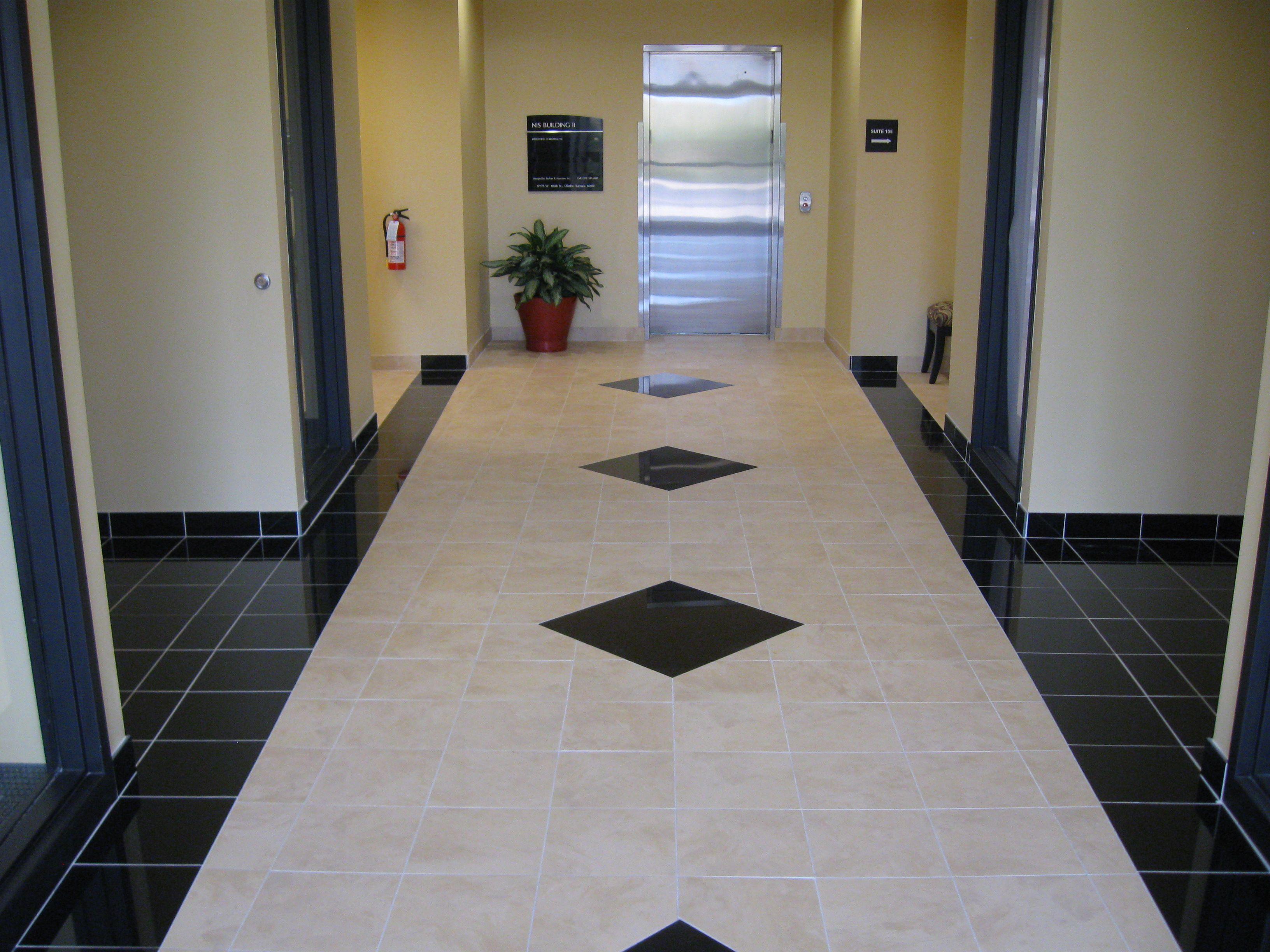 commercial porcelain floor tile patterns job photos tile